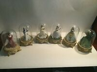 Gone With Scarlett Glass Domes 1993 - Limited Editions Numbered