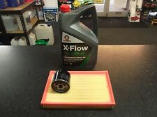 VW POLO 9N 1.4 16V BKY SERVICE KIT OIL AIR FILTERS COMMA OIL 5 LITRES XFLOW