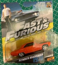 Plymouth Roadrunner 1970 Fast and Furious Die Cast Model No 2 New Unopened