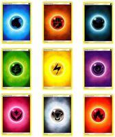 10x Pokemon Basic Energy Cards Mixed Lot