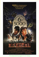 TRANSYLVANIA 6-5000 MOVIE POSTER Original Folded 27x41 JEFF GOLDBLUM 1985 Horror