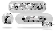 Skin for Beats Pill Plus Sexy Girl Silhouette Camo Gray Decal Wrap