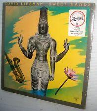 DAVID LIEBMAN Sweet Hands SEALED Jazz Fusion LP HORIZON SP-702 Charlie Haden