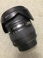 Sigma EX 10-20mm f/4.0-5.6 DC EX HSM Lens for Canon EF-S