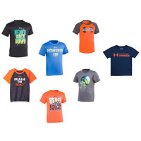 New Under Armour Little Boy's Graphic Print T-Shirt SIZE 2,3,4,5,6,7 MSRP:$25.00