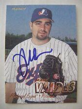MARC VALDES signed RC MARLINS 1997 Fleer baseball card AUTO FLORIDA GATORS EXPOS