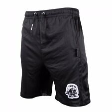 Gorilla Wear Athlete Oversized Shorts Black Fitness Bodybuilding schwarz