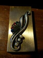 New listing Vintage Metal Cigarette Case Art Deco