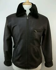 Vintage EURO MOND Of California Motorcycle  Leather Jacket Size Womens Medium M