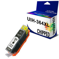364XL CHIPPED (CB322EE) Photo Black Ink Unbrand Fits for PhotoSmart C6380