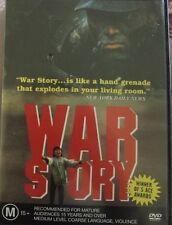 WAR STORY - OOP RARE DELETED REGION 4 PAL DVD MOVIE