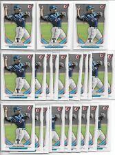 2014 Bowman Draft Josh Morgan (25) Card Paper Lot Rangers First Year Rookie