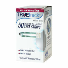 McKesson Compatible TRUEtrack Diabetic Blood Glucose Test Strips, 50ct Box