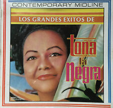 Tona La Negra Los Grandes Exitos Bolero CD RCA 1985 Puerto Rico MINT