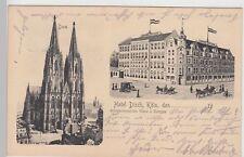 (112651) AK Colonia, Hotel svedese, Dom 1914
