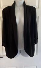 Ladies Black Smart Jacket Newlook Size 8