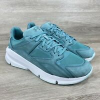 Under Armour Forge 96 Nubuck Reflect 2 Men's Mint Green Shoes 3021976 Size 11.5