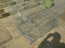 SAVIC  DOG CAGE SIZE  APPROX  920mm  x 620mm  x 620mm  VERY CLEAN SAFE ORDER