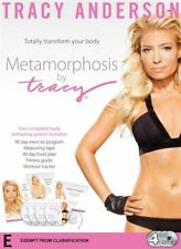 Tracy Anderson Metamorphosis (4-Disc Set) Totally Transform Your Body : New DVD
