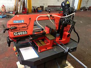 CARTER 250mm Double Mitre Bandsaw Sheet Metal Fabrication Saw Sawing Machine