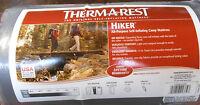 "Therm a Rest Hiker Ground Pad 72"" Sleeping Mat Regular Self Inflating IR gry"