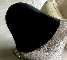 Wool Hat unisex Black One Size Italy