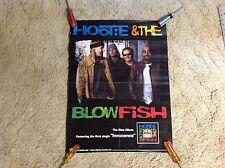 Hootie & the Blowfish Promo Poster 24x17. cd lp. darius rucker music vintage r