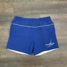 New listing NAUTICA - Blue Lined Swim Trunks Swimming Suit Shorts - Mens MEDIUM - MUST SEE