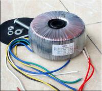 600VA 600W Toroidal Power Transformer Power Amplifier 50V-0-50V 15V-0-15V 12V-0