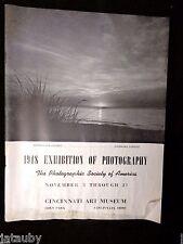 1948 Brochure Program THE CINCINNATI ART MUSEUM EXHIBITION OF PHOTOGRAPHY