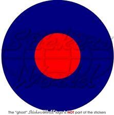 "RAF Royal Air Force Type B Aircraft Roundel UK British 100mm (4"") Sticker Decal"