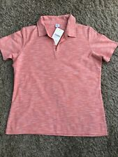 NEW WOMENS COTTON TRADERS COLLARED SHORT SLEEVE POLO T-SHIRT UK SIZE 16 RRP£28
