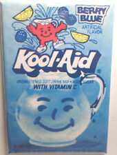 "Berry Blue Kool Aid Packet 2""x3"" Fridge or Locker MAGNET"