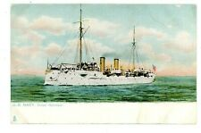 Military/Navy -U.S. CRUISER U.S.S. BALTIMORE- Raphael Tuck Postcard Ship/USS