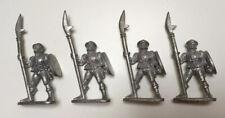4 x Classic Metal Pre-slotta Empire Halberdiers