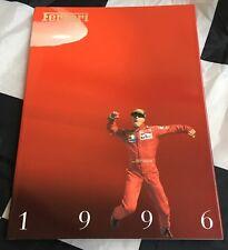 1996 FERRARI YEARBOOK BROCHURE ANNUAL F1 F310 550 MARANELLO 456 GTA NURBURBRING