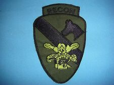VIETNAM WAR PATCH, E Co 2nd SQUADRON,1st BN 7th CAVALRY Rgt 1st CAV DIVISION