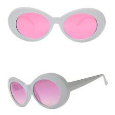 Quality Oval Glasses Kurt Cobain Sunglasses Nirvana Fancy Dress Grunge Red White