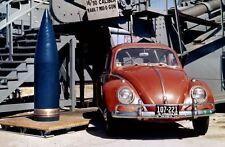 8x10 Print Battleship 16 Inch Shell Besides Volkswagen #5502055