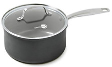 The Original Green Pan😘 3.3 Qt Sauce Pan With Lid Thermolon Metal Utensil Safe