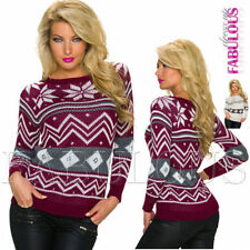 Hand-wash Only Geometric Jumpers & Cardigans for Women