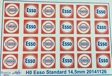 Esso Standard Decals 1:87 oder H0
