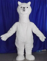 Halloween Alpaca Mascot Costume Advertising Cosplay Party Game Adult Outfit 2019