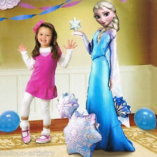 "57"" Disney's FROZEN Snow Queen ELSA Character Party Foil Airwalker Balloon"