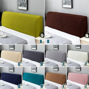 Headboard Slipcover Stretch Protector Cover Dustproof Elastic Bed Head Cover NEW