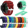 Replacement Silicone Wear-resistant Quick Fit Watch Strap Wristband for