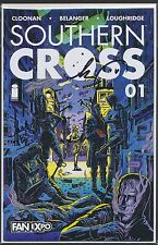 SOUTHERN CROSS #1 FAN EXPO 2015 SIGNED Becky Cloonan & Andy Belanger COA