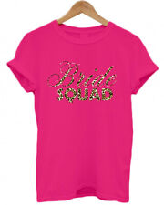 BRIDE SQUAD, LEOPARD PRINT, animal print, names, HEN DO/ NIGHT/ PARTY T SHIRT