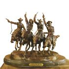 Coming Through the Rye by Frederic Remington Bronze Mini