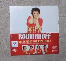 "DVD SPECTACLE / BEST OF DE ANNE ROUMANOFF ""ON NE NOUS DIT PAS TOUT"" DVD NEUF"